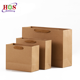 Multiply Kraft Paper Bag With Different Handle Types For Shopping Mall Cloth Dress Coffee Sweet Fruits And Vegetables