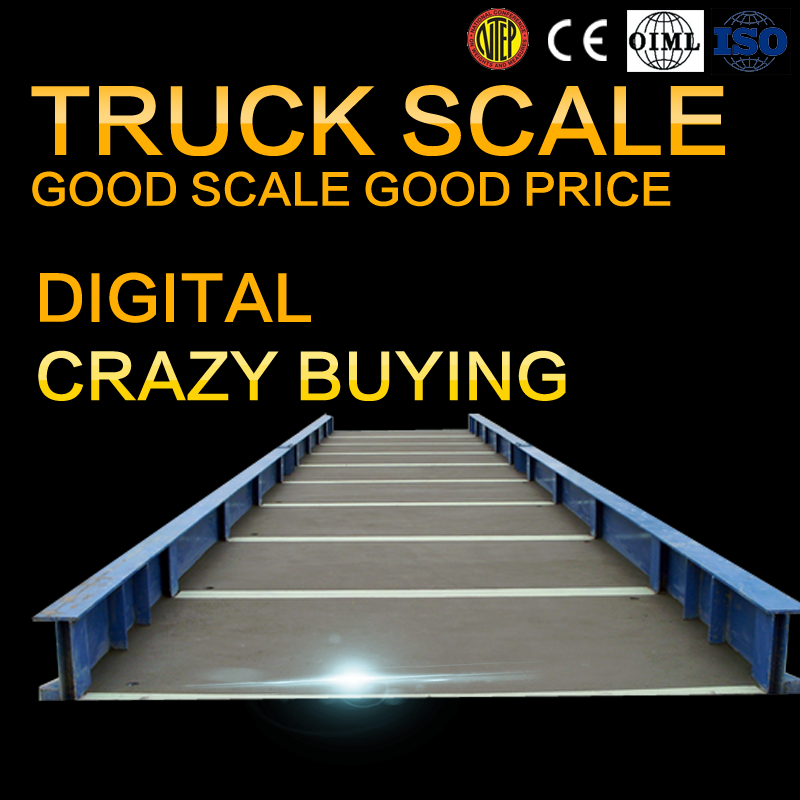 50 ton weighbrige loadcell electric truck scale