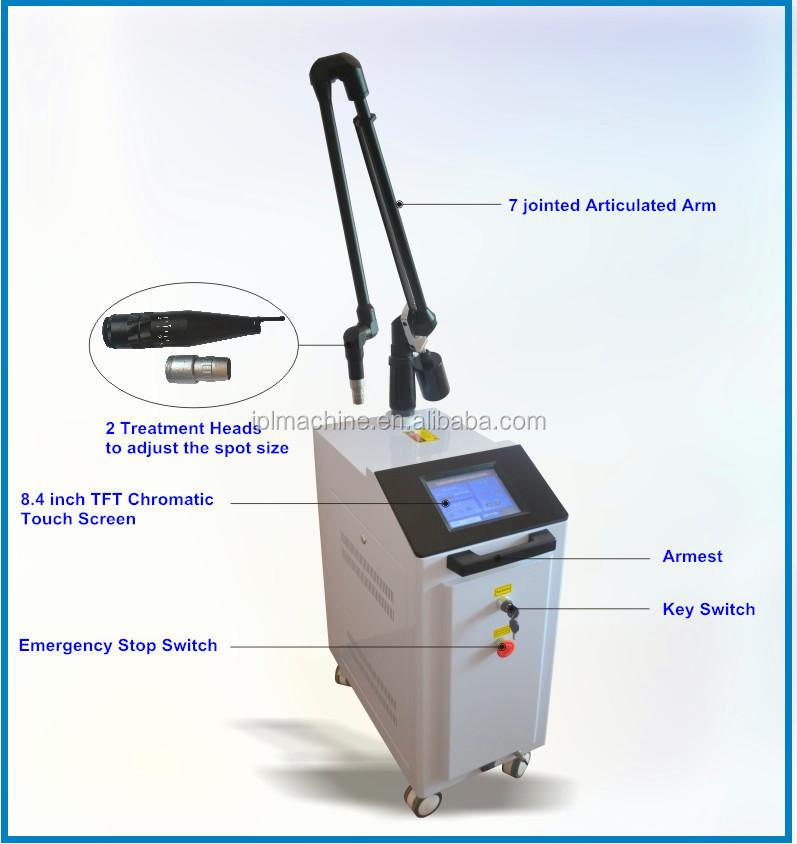 EO Q switch laser KTP Laser 1064 long pulse nd yag laser, View ktp ...