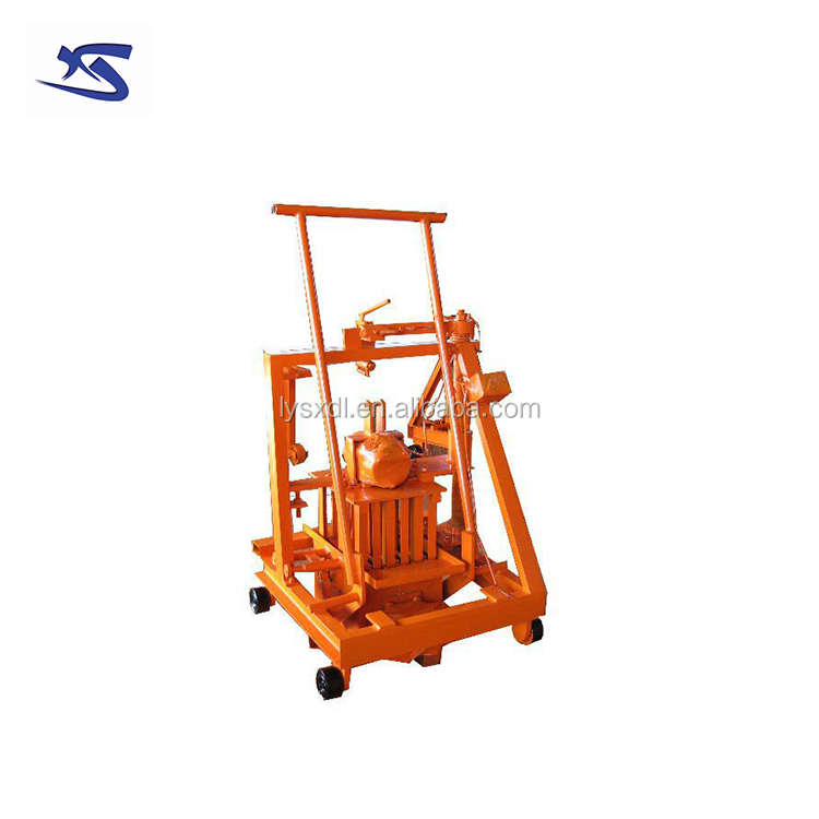 Sancidalo Brand QT 40-3C Concrete Brick Machine / Fly Ash Brick Machine on Sale (export brick machine more than 100 countries)
