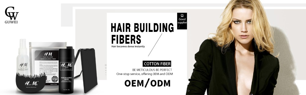Fibers Keratin Instant Natural Styling Spray Men Thin Hair Powder