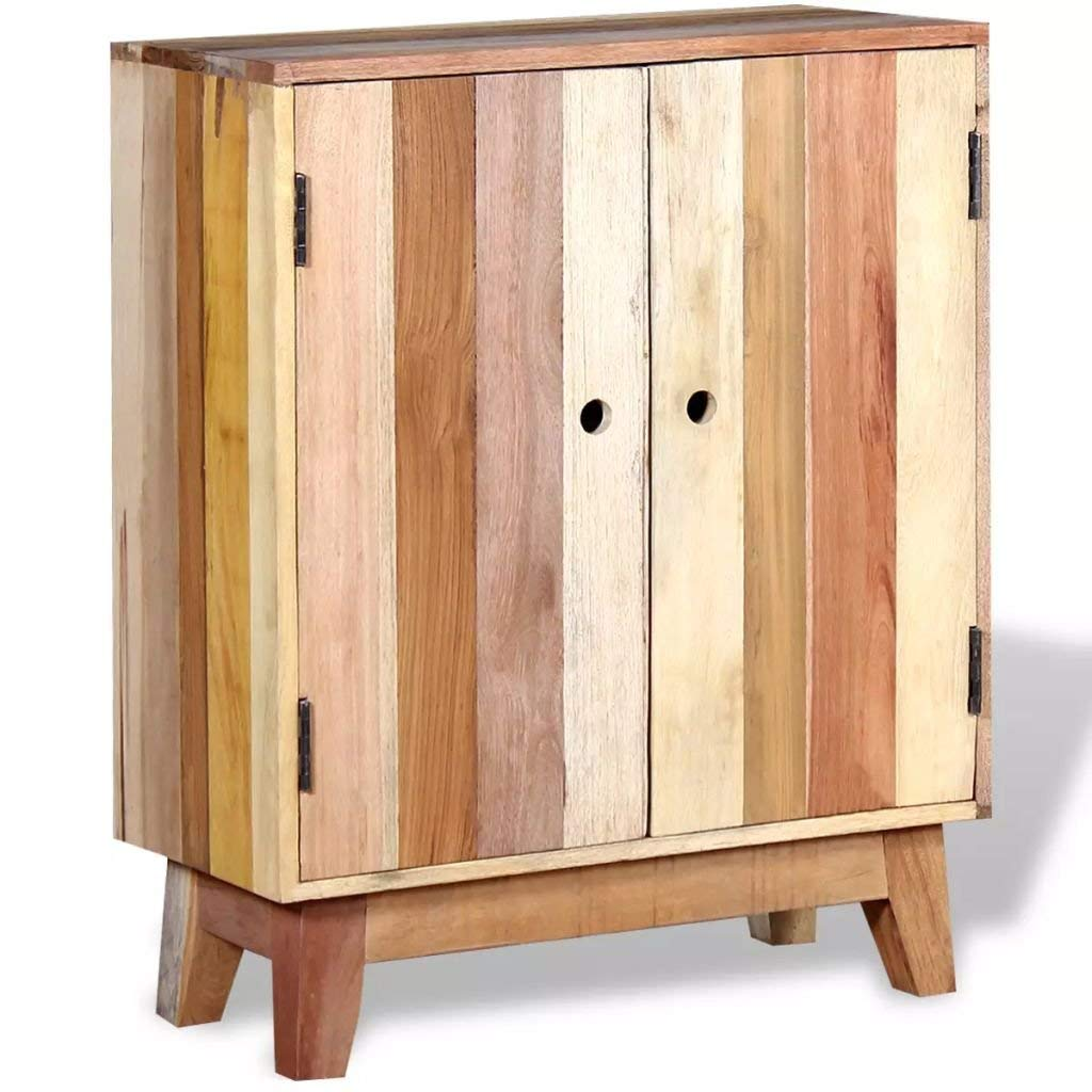 "Festnight Industrial Buffet Sideboard Solid Reclaimed Wood 23.6"" x 11.8"" x 30"""