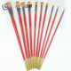 High-end Nylon Hair Acrylic Artist Brushes,Sign Painter Brush With Wooden Handle
