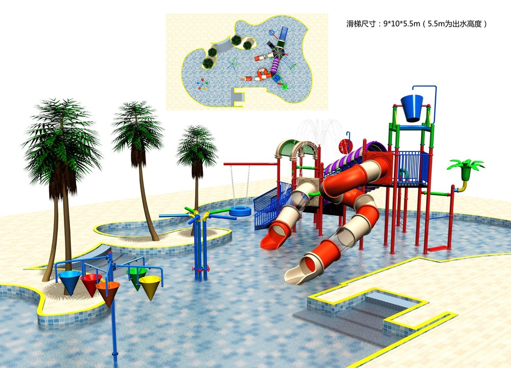 China Cheap Kids Hard Plastic Water Slides Large Plastic