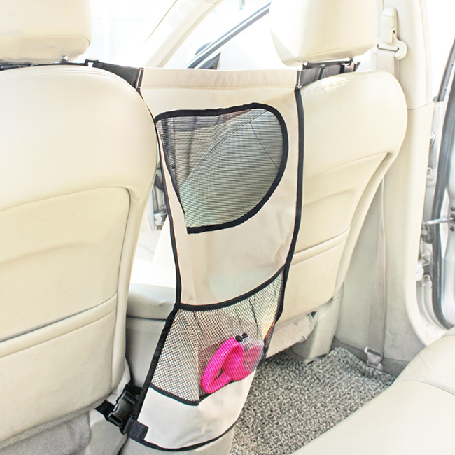 Fashion Elegant organizer travel pet car back seat protector