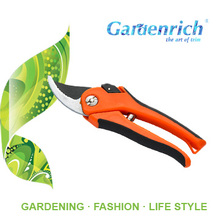 RG6015 Gardenrich professional bypass garden pruning branches trimming steel shear