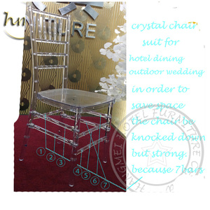 Resin Stacking Tiffany Chiavari Wedding Chair