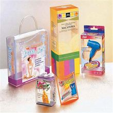 Wholesale cartoon pattern recyclable popular colorful pvc packaging