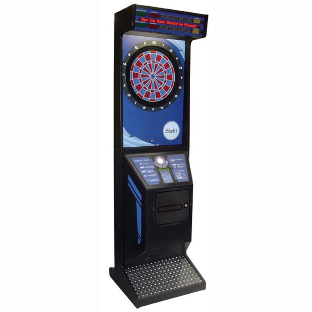 Gold Standard/Shelti Eye 2 Commercial Grade Arcade Electronic Dart Board Complete Set