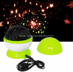 High quality Rotation projector lamp / Star Sky Romantic Night Projector Light / Rotating luminous Dream night light.