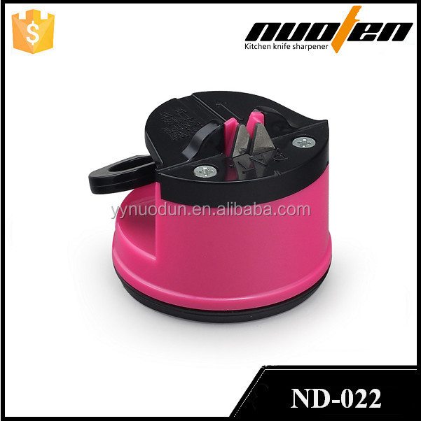 Promotion gifts professional kitchen knife sharpener with suction pad for stable