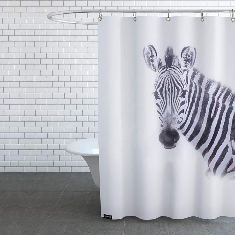 Cheap Zebra Shower Curtain Hooks Find Zebra Shower Curtain