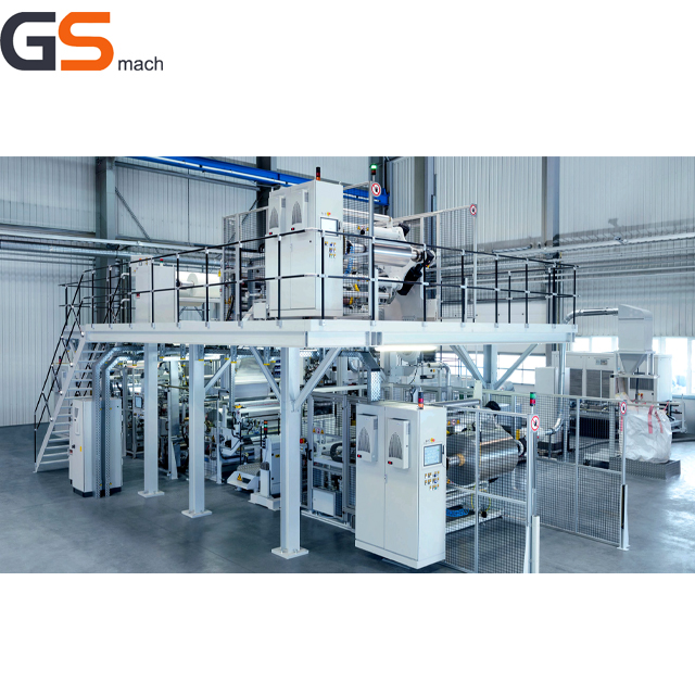 Non-Woven Fabric thermal Lamination film packaging machine