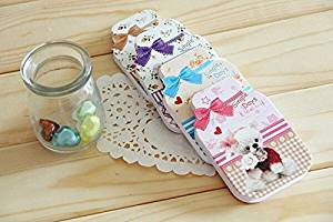 Stationery Supplies Dog Portable Sticky Paper Memo Pad for School Girl Writing 98*65 Mm 6pcs