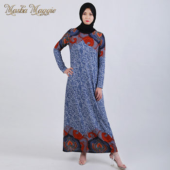 2019 New Fashion Muslim Women Dress, Abaya, Islamic Dress, Simple long dress, light and comfortable