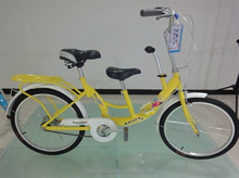 tandem bike/children and mothers bike tandem bicycle for 2 person