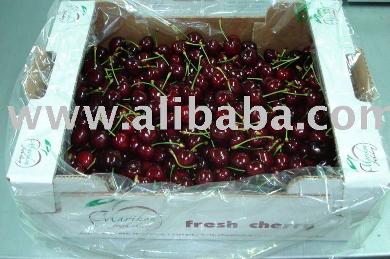 cherry varieties are Van, Bing and Bigarreau Burlat