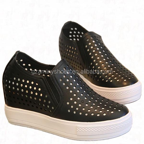 Leather Sneakers Heel Shoes 2015 Heeled Flat Casual Women Genuine men Fashion Shoes Women Loafers z0wSgqCYw