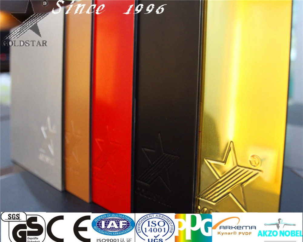 32/58/72 inch TV background wall design 2mm Aluminum composite panel