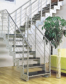 Delicieux Residential Steel Baluster Railing Folding Stairs