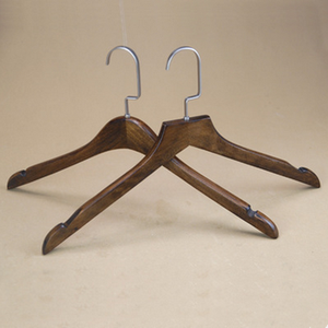 customize New Style Daily use high quality wooden painted clothing hanger for KIds