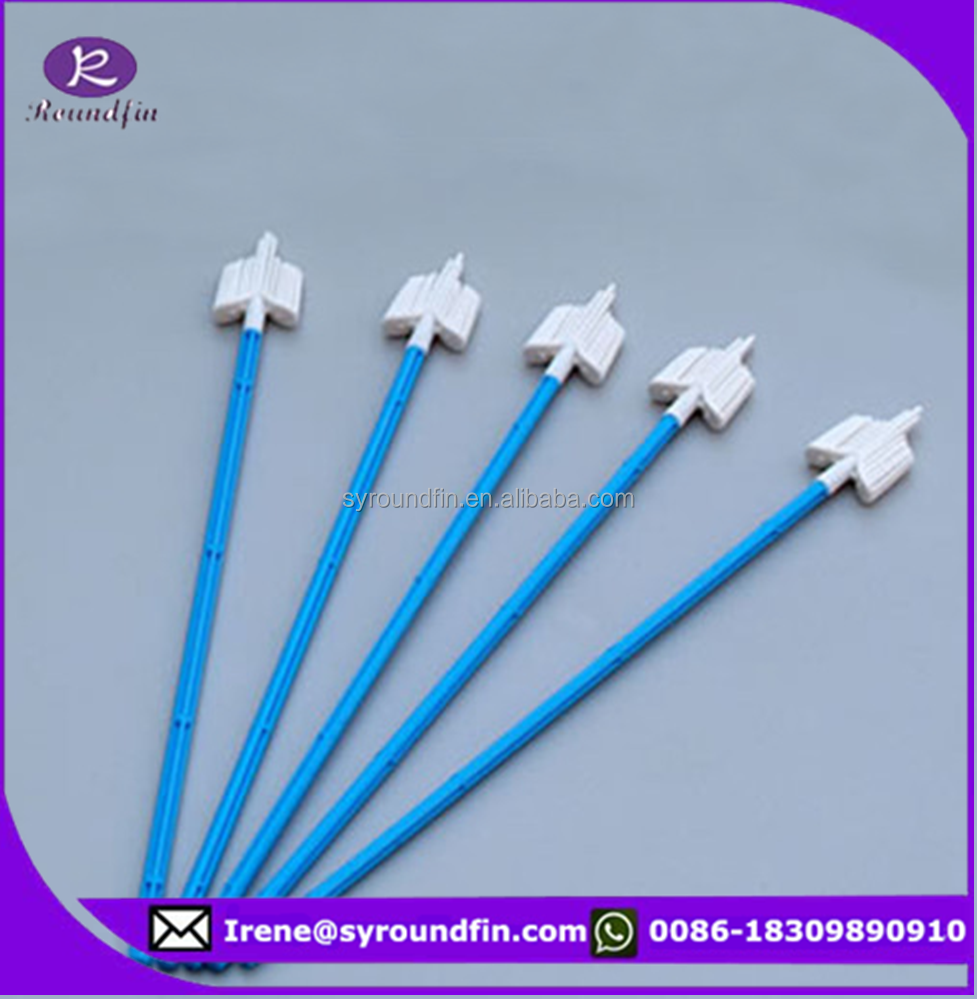 cervical flocked sampling swab/ disposable cytology brush/ gynecological sampling brush
