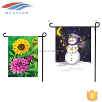 No MOQ Blank Decorative Printing Cheap Wholesale Garden Polyester Fabric Custom Flags For Sale