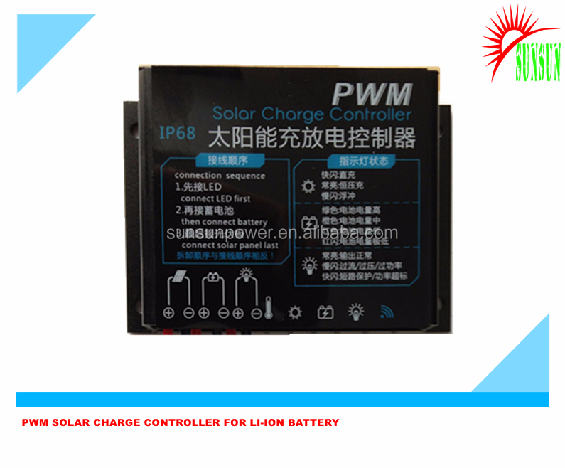 Solar Charge Controller for Lifepo4 battery