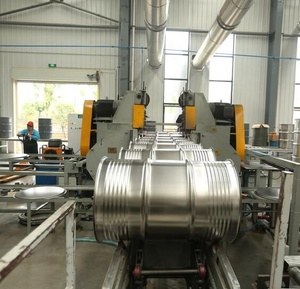 200L steel drums production line of steel barrels making machine