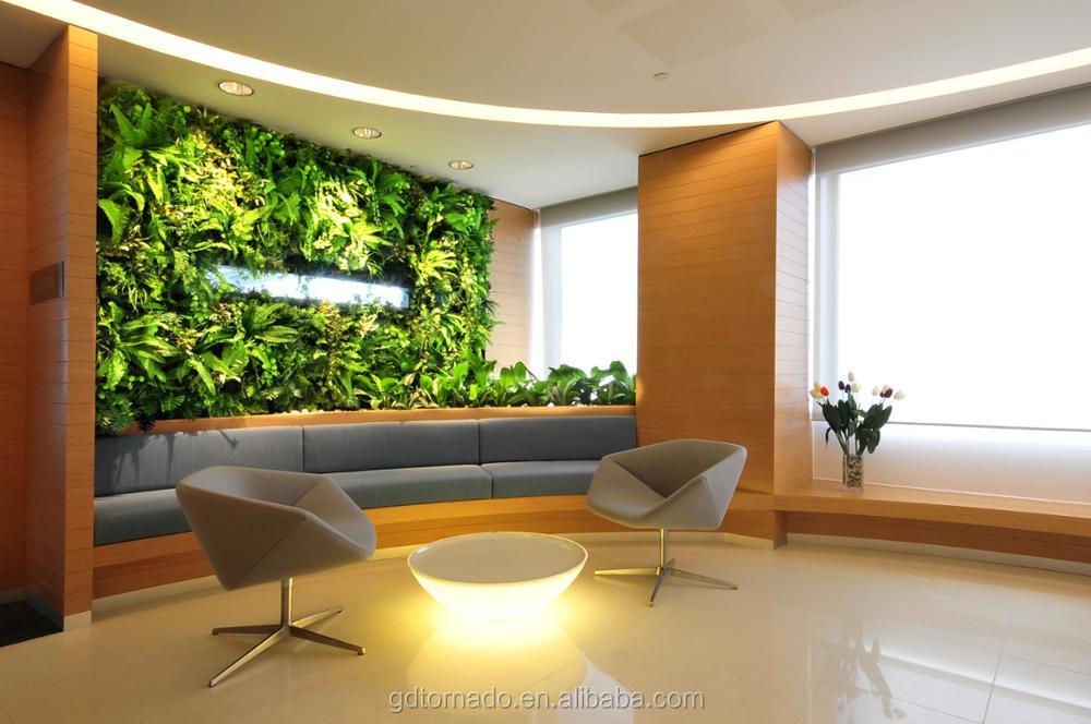 Hot Sale Greenery Wall Artificial Vertical Grass Wall Fake