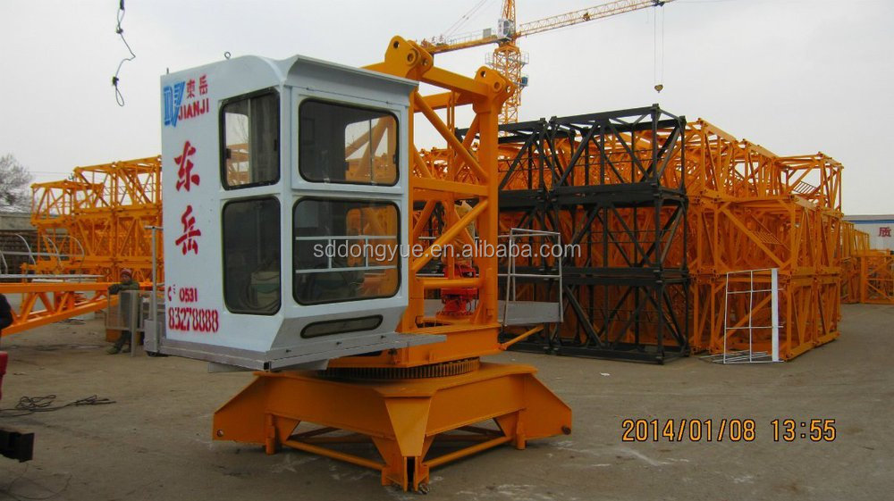 10ton TC6518 Tower Crane,tower crane manufacturer