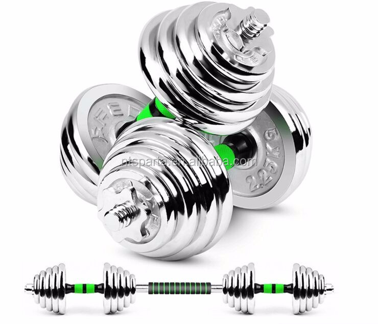 2017 hot sales!!!Adjustable Chromed Dumbells for Home/Gym