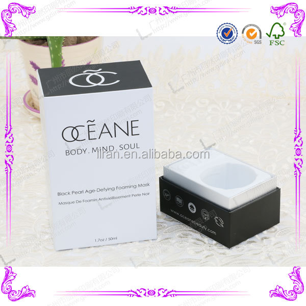 Custom Printed Luxury Design Perfume Packaging Box Design Templates