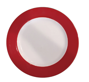 White Melamine Plate with Red trim  sc 1 st  Alibaba & White Melamine Plate With Red Trim - Buy Melamine PlatesDouble ...