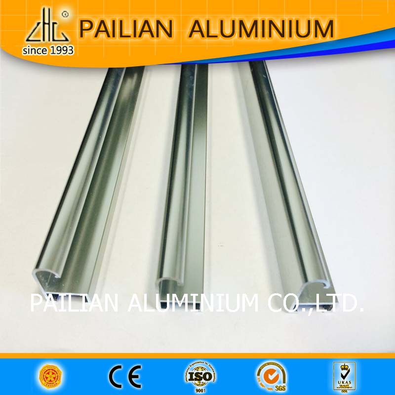 Wow!Matt anodiezed aluminium profile parts for glass shower,extruded hollow aluminium profile fix glass for India