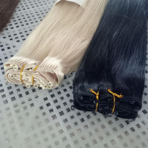Top grade high quality hot sale 100% brazilian human hair weft hair extensions