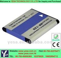 Camera battery for CASIO Exilim EX-ZS12, Exilim EX-ZS20