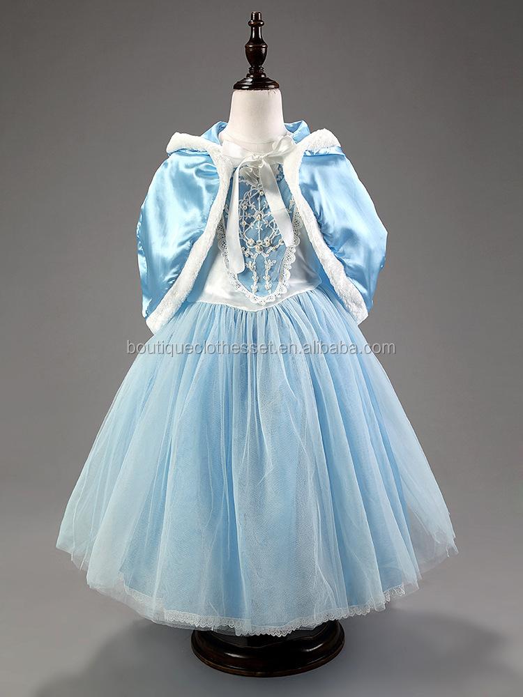 atacado meninas cosplay vestido cinderela vestidos para meninas