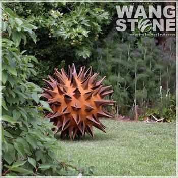 Ball Decorative Outdoor Metal Garden Art Wholesale - Buy Metal ...