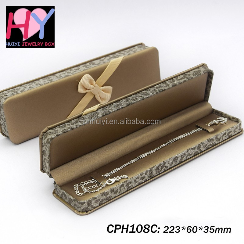 Wholesale luxury pu leather jewelry hand-chain watch gift box