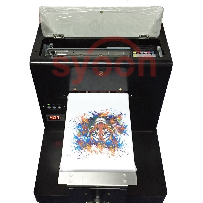 Syoontech A3 Size t-shirt Printer eco solvent DTG Flatbed printer