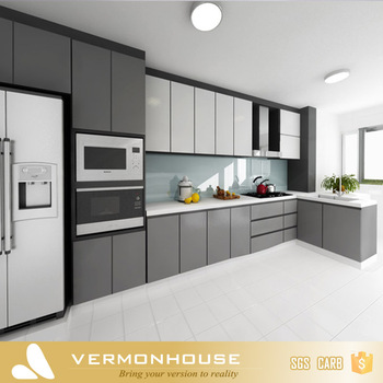 2018 New Design Modern Style Grey Color Painted Solid Wood Modular Kitchen Cabinet Furniture Buy New Design Modern Style Kitchen Cabinet New Design Modern Style Kitchen Cabinet New Design Modern Style Kitchen Cabinet