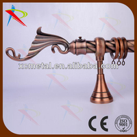 Curtain rod drapery wall mount curtain rods