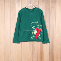 Dropshipper Clothing Animal Loose And Leisure Green Hoodie Sweatshirt For Kids