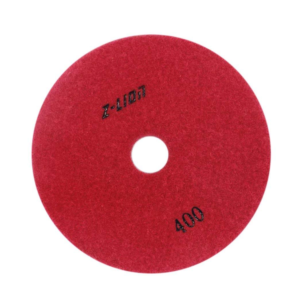 Homyl 3, 4,5 Inch Wet Dry Electroplated Diamond Polishing Sanding Pad Disc Granite - 400 Grit, 100mm