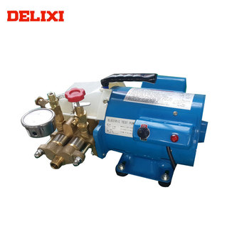 Testing Equipment DELIXI DLX-DSY60A 60BAR China Manufacture Electrical hydraulic pressure test pump for sale