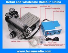 220V 230W CNC 3020T-DJ Router Engraver upgrade from 3020 Milling Drilling Machine