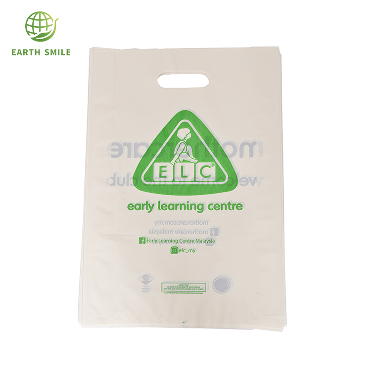 Recycled Materials Custom Cornstarch Pe Hdpe Biodegradable Shopping Bags  For Supermarket Shopping Bags - Buy Biodegradable Shopping  Bags,Biodegradable