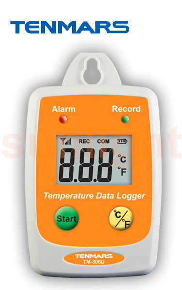 TM-306U Wallmount USB Temperature Datalogger