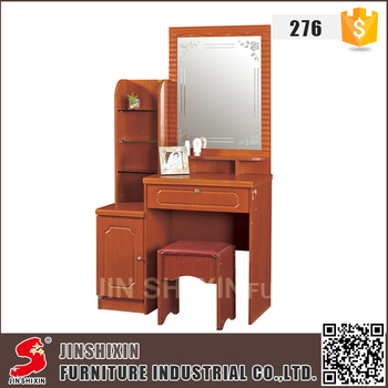 Factory Price Classic Style Mdf Wooden Dressing Table With Full